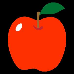 「リンゴイラスト」の画像検索結果
